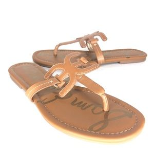 Sam Edelman Shoes - NWOT Sam Edelman Carter Brown Tan Sandals SH0568